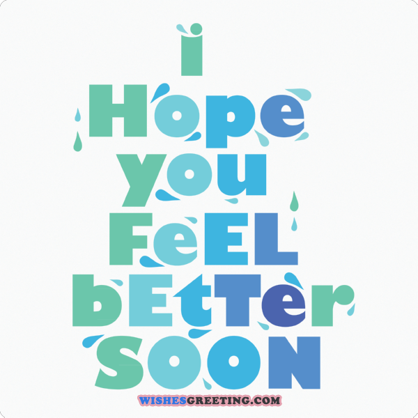 Get Well Soon Quotes Custom The 48 Get Well Soon Messages And Wishes WishesGreeting