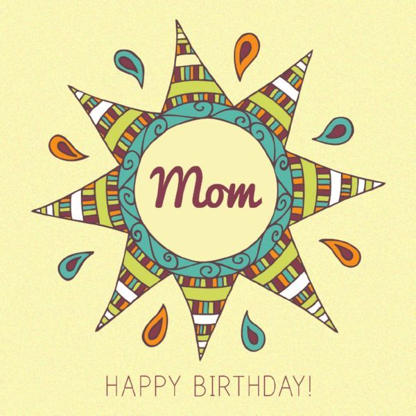 The 105 Happy Birthday Mom Messages Quotes and Wishes – Mom Birthday Greetings