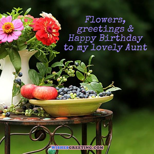Top 60 happy birthday aunt wishes and messages wishesgreeting happybirthdayaunt06 m4hsunfo