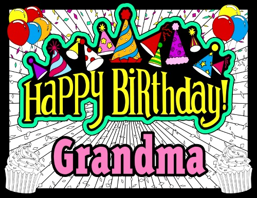 Happy birthday Grandma quotes images