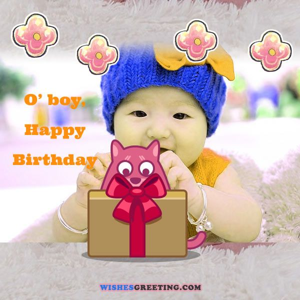 Happy birthday baby wishes for a baby boy or girl wishesgreeting birthday wishes for baby boy m4hsunfo