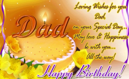 Original Happy Birthday Dad Quotes Birthday Wishes for Dad – Happy Birthday Card Dad