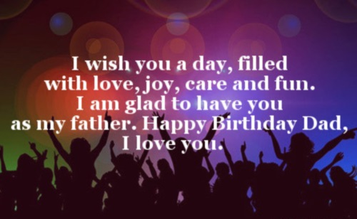 Original Happy Birthday Dad Quotes Birthday Wishes for Dad – Birthday Greeting Dad