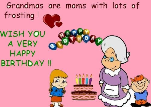 Top 100 Happy Birthday Grandma Quotes and Wishes ...