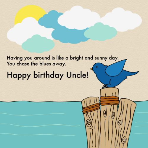 Birthday Wishes For Uncle Health ~ The happy birthday uncle quotes wishesgreeting