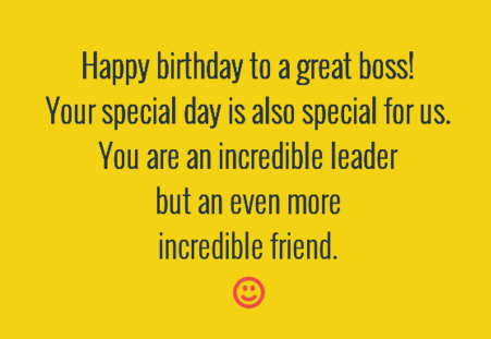 The 40 Birthday Wishes for Boss – Happy Birthday Greetings to Boss