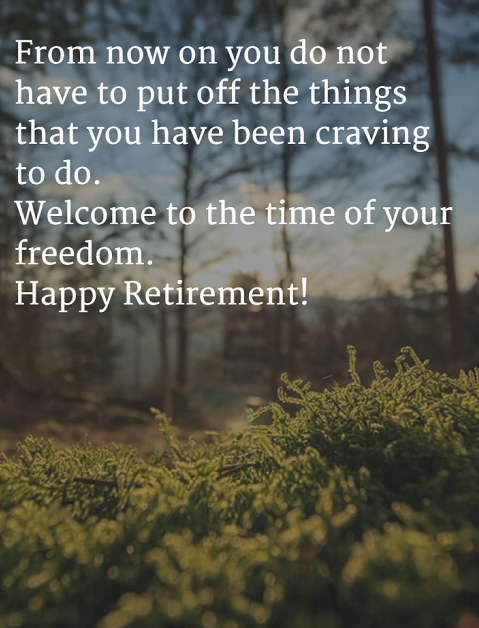 40+ Happy Retirement Wishes | WishesGreeting