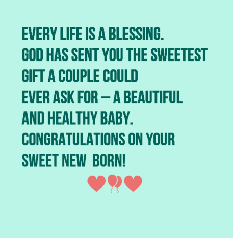 40 New Baby Wishes And Messages Wishesgreeting