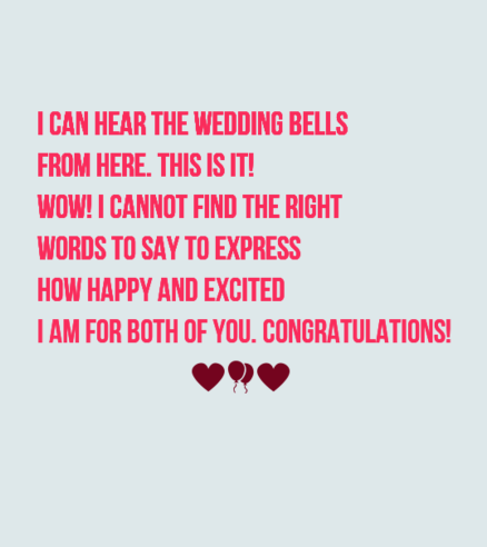 40 Romantic Wedding Card Messages WishesGreeting