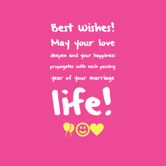 All The Best Wishes Quotes For Future: The 60 Romantic Wedding Wishes
