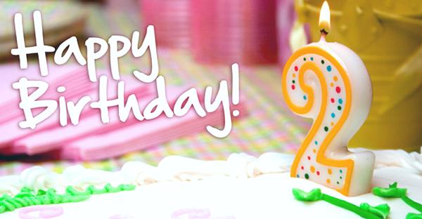 Happy 2nd Birthday Wishes My Blog Happy Second Birthday Wishes