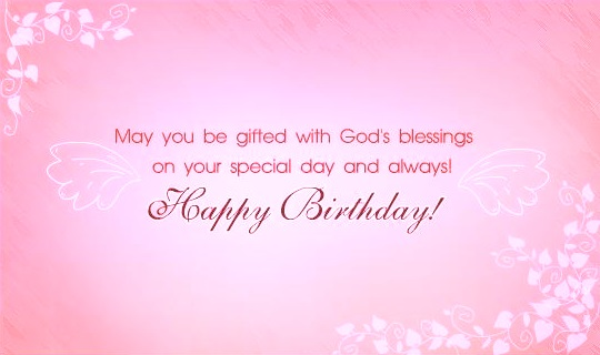 The 60 Happy Birthday Blessings | WishesGreeting