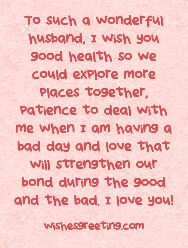 Birthday Quotes For Husband Simple The 48 Happy Birthday To My Husband WishesGreeting