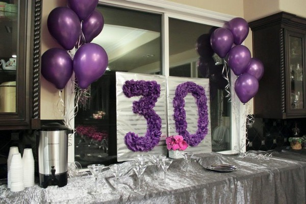 Best 30th birthday party ideas wishesgreeting for 30th anniversary party decoration ideas