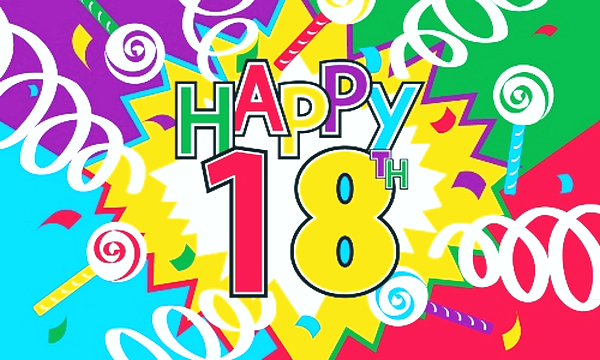 Sweet Happy 18th Birthday Wishes with Images – Happy 18th Birthday Greetings