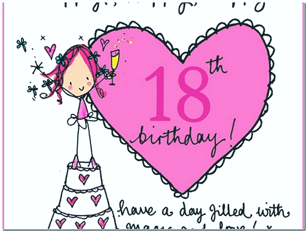 Magnificent Sweet Happy 18Th Birthday Wishes Wishesgreeting Funny Birthday Cards Online Alyptdamsfinfo