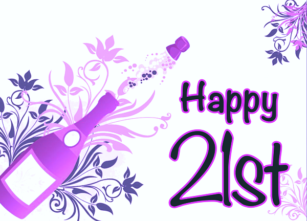 Graphics For 21st Birthday Graphics Www Graphicsbuzz Com Happy 21st Birthday Wishes