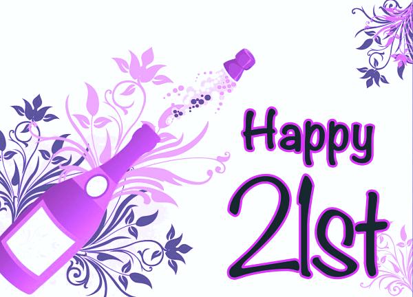 Cute Happy 21st Birthday Wishes Wishesgreeting