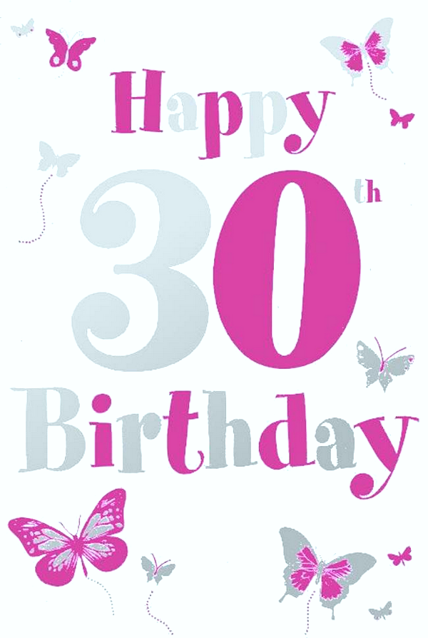Sweet Happy 30th Birthday Quotes and Wishes | WishesGreeting