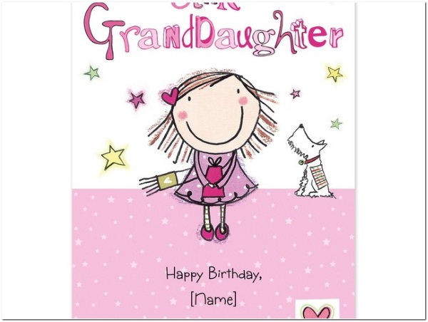 The 60 happy birthday granddaughter wishes wishesgreeting happy birthday to granddaughter from grandparents bookmarktalkfo Gallery