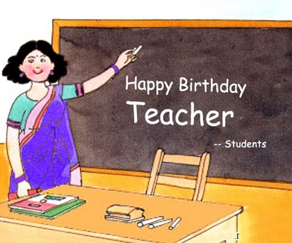Top 105 Happy Birthday Wishes For Teacher | WishesGreeting