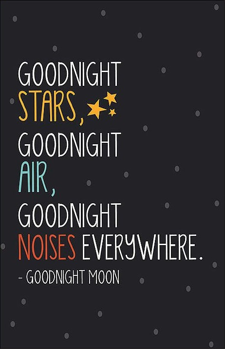 goodnight in different ways
