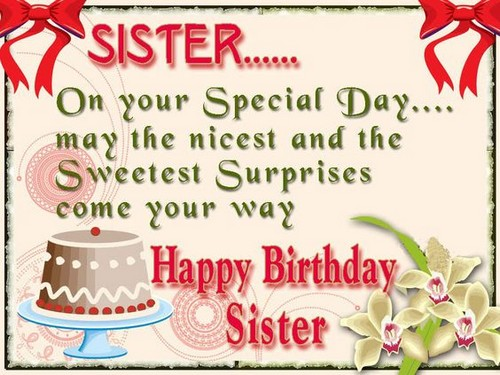 The 105 happy birthday little sister quotes and wishes wishesgreeting happy birthday sister quotes m4hsunfo