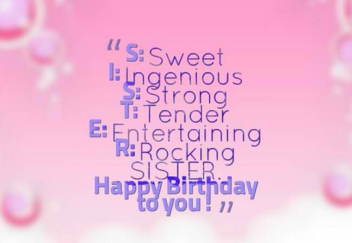 Sensational The 105 Happy Birthday Little Sister Quotes And Wishes Funny Birthday Cards Online Inifofree Goldxyz