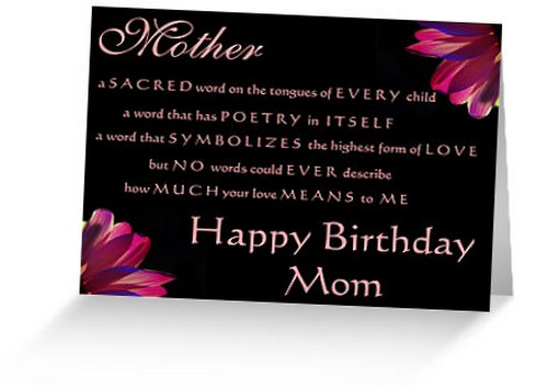 The 85 Loving Happy Birthday Mom from Daughter – Birthday Cards to Mom from Daughter