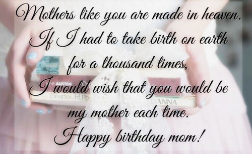 The 85 Loving Happy Birthday Mom from Daughter ...