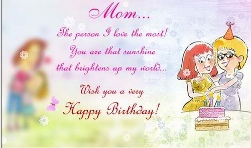 The 85 Loving Happy Birthday Mom from Daughter – Happy Birthday Greetings for Mom