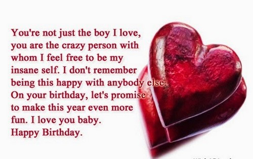 the happy birthday to my boyfriend wishes wishesgreeting