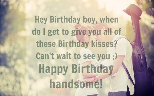The 85 Happy Birthday To My Boyfriend Wishes Wishesgreeting