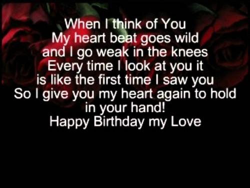 The 85 Happy Birthday To My Boyfriend Wishes
