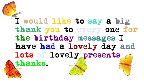 The 60 Thank You For All The Birthday Wishes From the Heart – Saying Thank You for Birthday Greetings