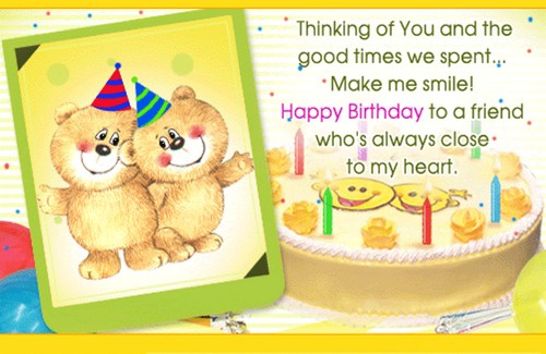 Birthday Wishes For A Good Friend2
