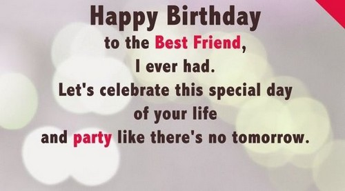 Happy Birthday My Best Buddy Wishes For Friend6