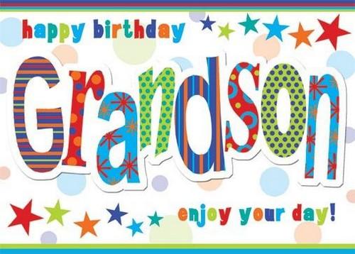 Best Birthday Grandson Happy Grandson1