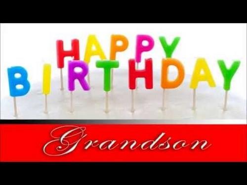 Best Birthday Grandson Happy Grandson2