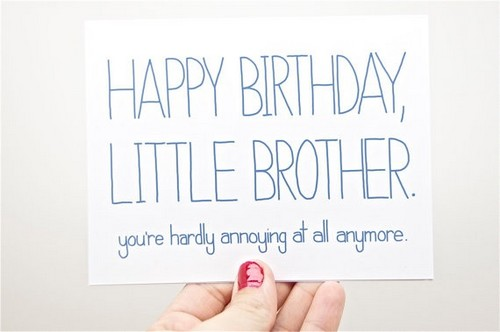 happy birthday lil brother The 105 Happy Birthday Little Brother | WishesGreeting happy birthday lil brother