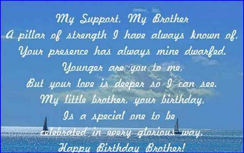 The 105 Happy Birthday Little Brother