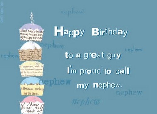 The 85 Happy Birthday Wishes for Nephew | WishesGreeting
