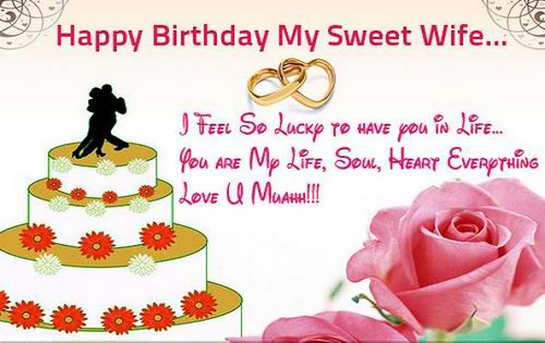 The 55 Romantic Birthday Wishes for Wife | WishesGreeting