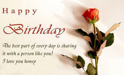 The 55 Romantic Birthday Wishes for Wife From Loving Husband – Wife Birthday Greetings
