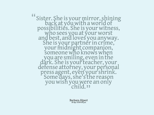 The 105 Big Sister Quotes Wishesgreeting
