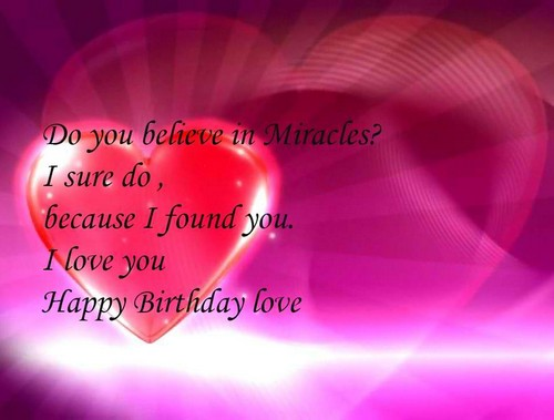 Birthday Wishes For Lover1