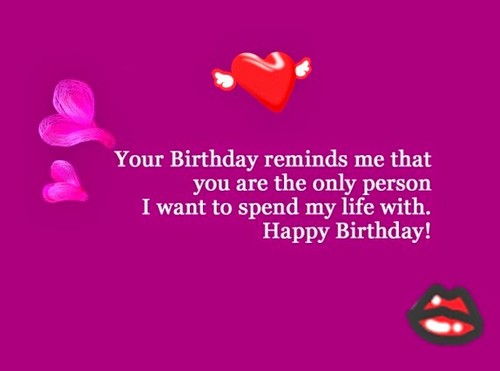 Birthday Wishes For Lover | WishesGreeting