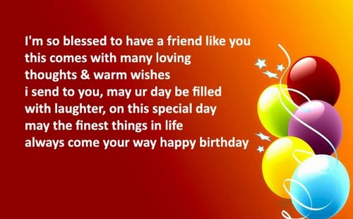 Birthday Quotes For Friend.105 Birthday Quotes And Wishes For Friend Wishesgreeting
