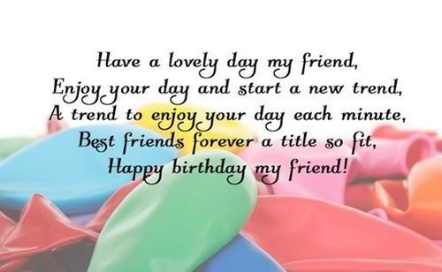 Birthday Quotes For Friend Beauteous 48 Birthday Quotes And Wishes For Friend WishesGreeting