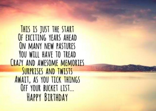 Sentimental Birthday Quotes For You